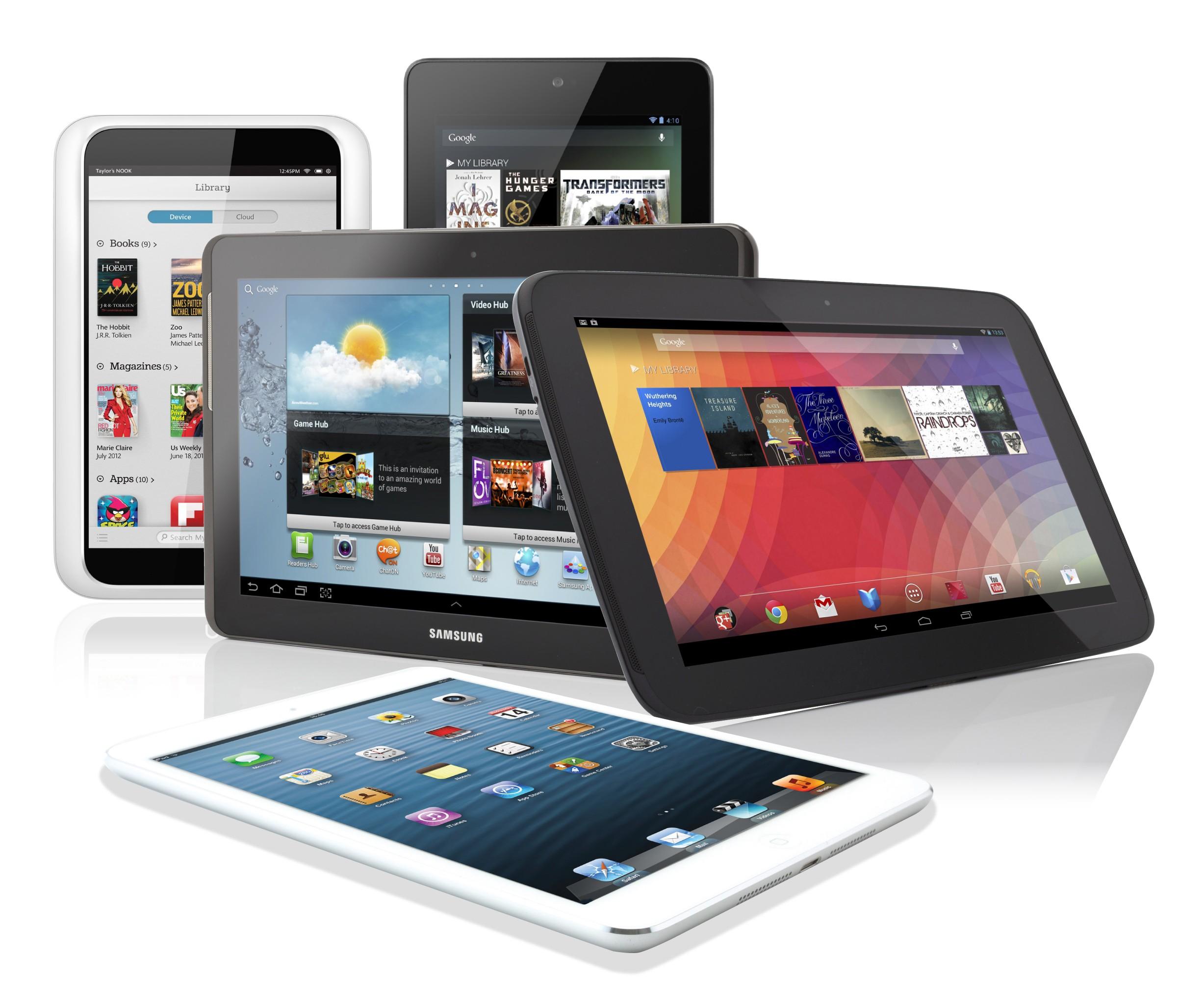 Alquiler de Tablets